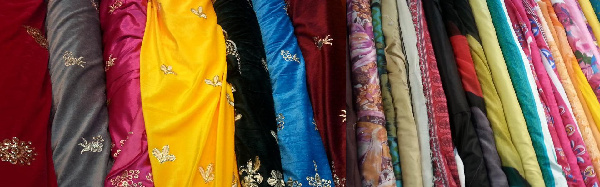 Cotton, Printed & Velvet Design Unstitched Suits