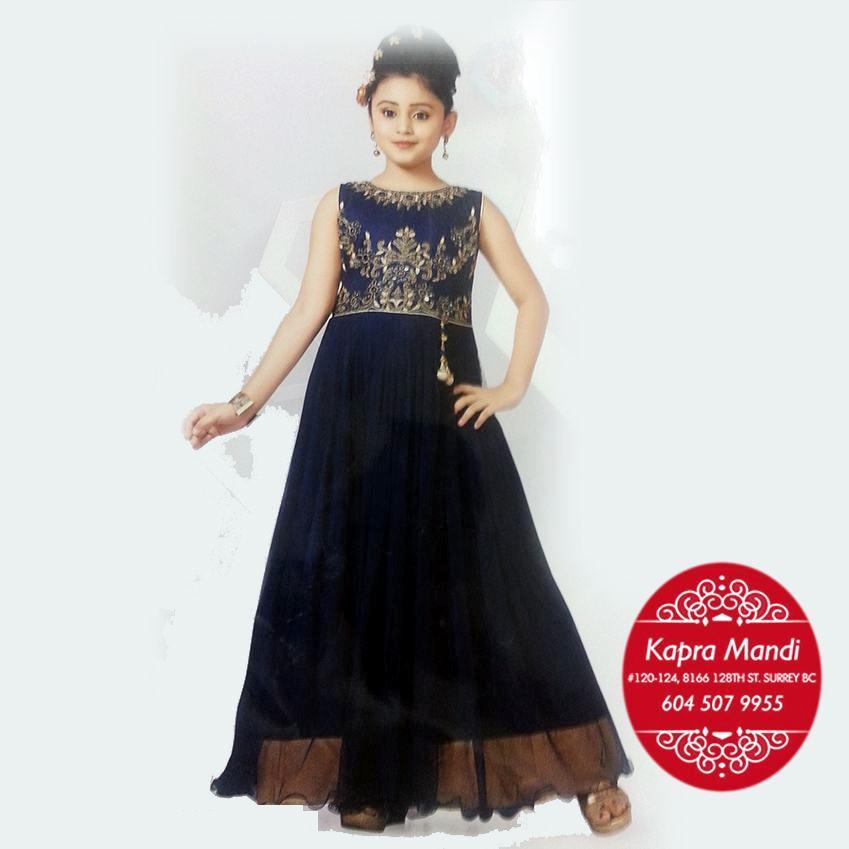 Infant Designer Clothes   Kids Designer Clothes For Girls Kmkb09 Kapra Mandi Fabric