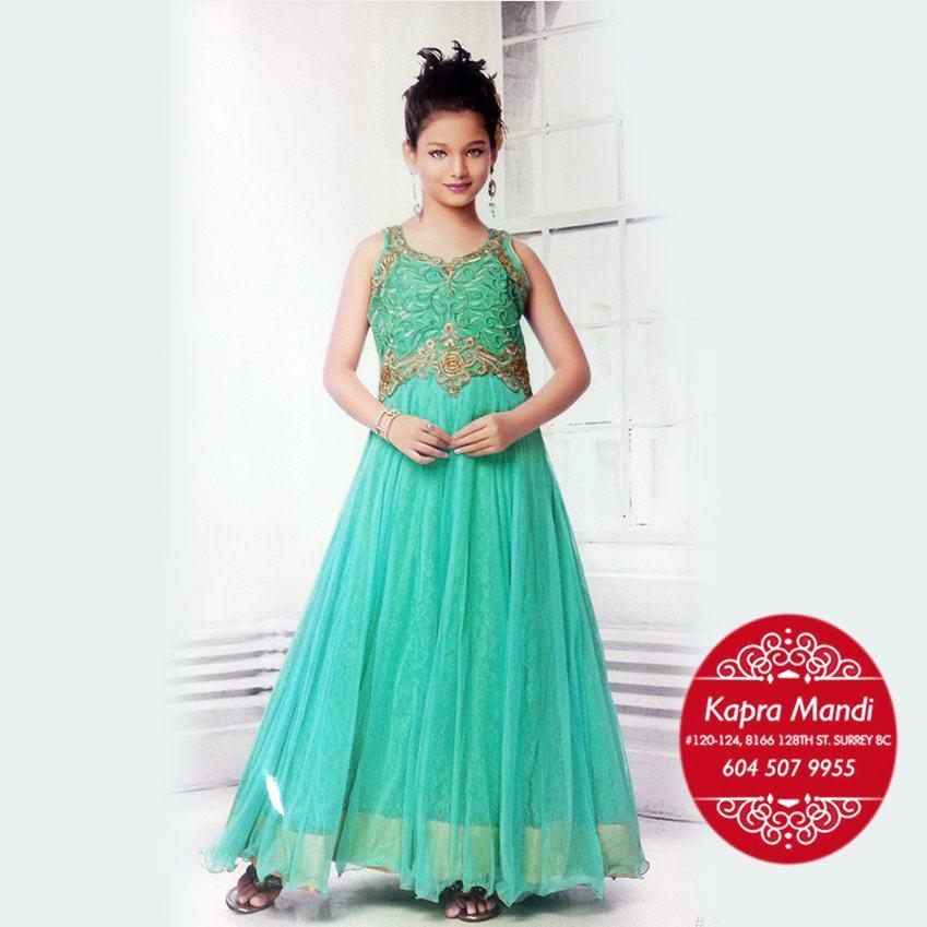 a466135b0f5f kids designer clothes for girls - KMKB12 - Kapra Mandi - Fabric ...
