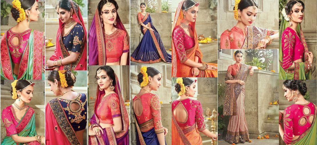 Silk Sarees Collection by Kapra Mandi – Surrey