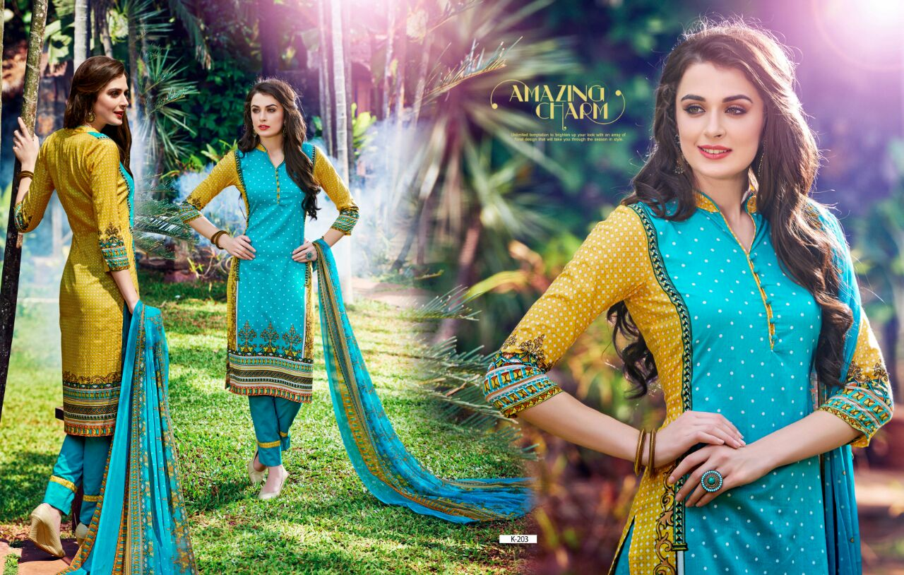 Karachi Prints Summer Cotton Suits