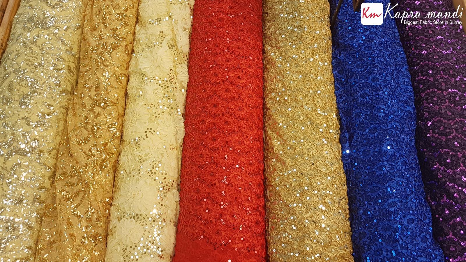 Decoration fabric sale at Kapra Mandi