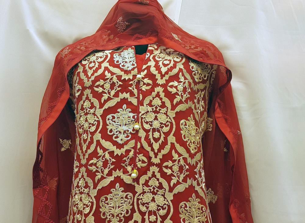 Ladies Suits with embroidery and art work