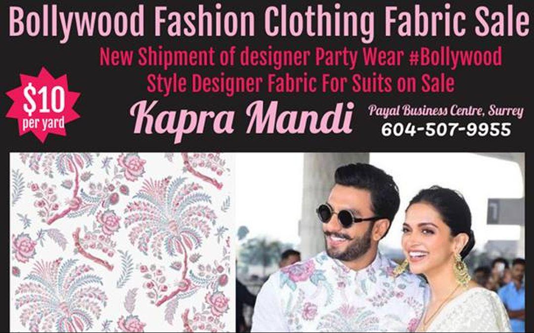 Trending Bollywood Fashion Fabrics Sale