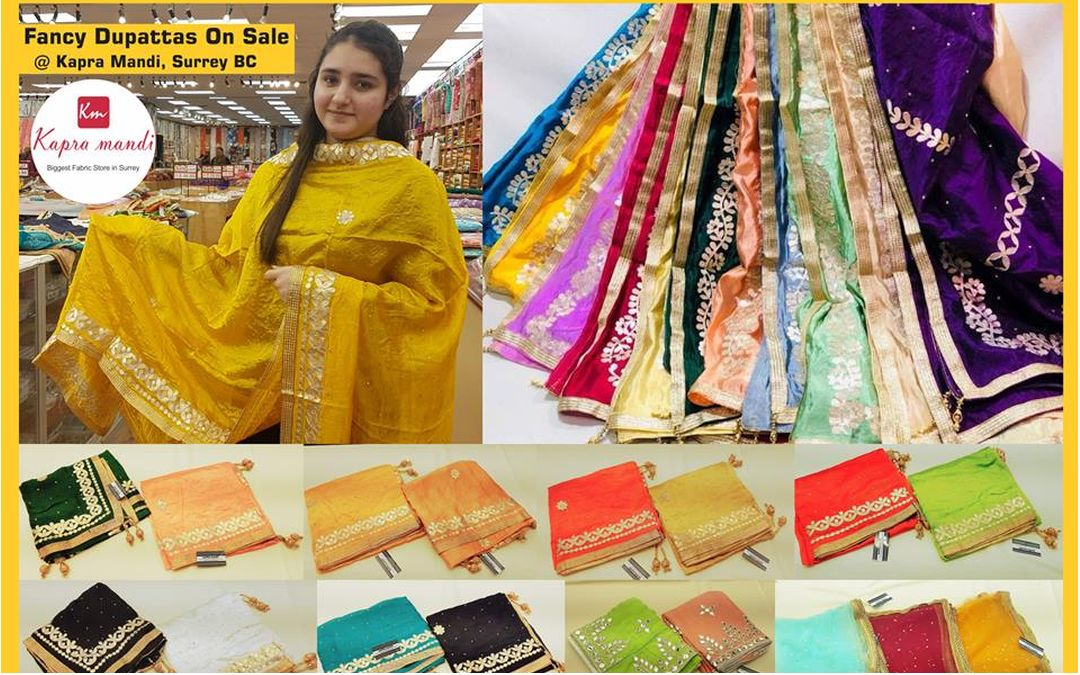 Fancy Dupattas On Sale