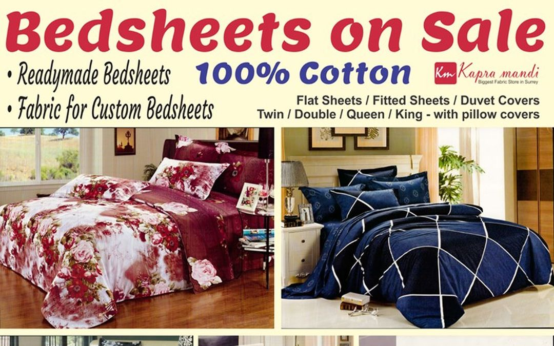 Big Sale of Bedsheets
