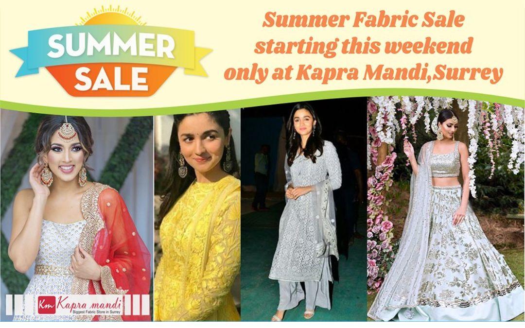 Summer Fabric Sale